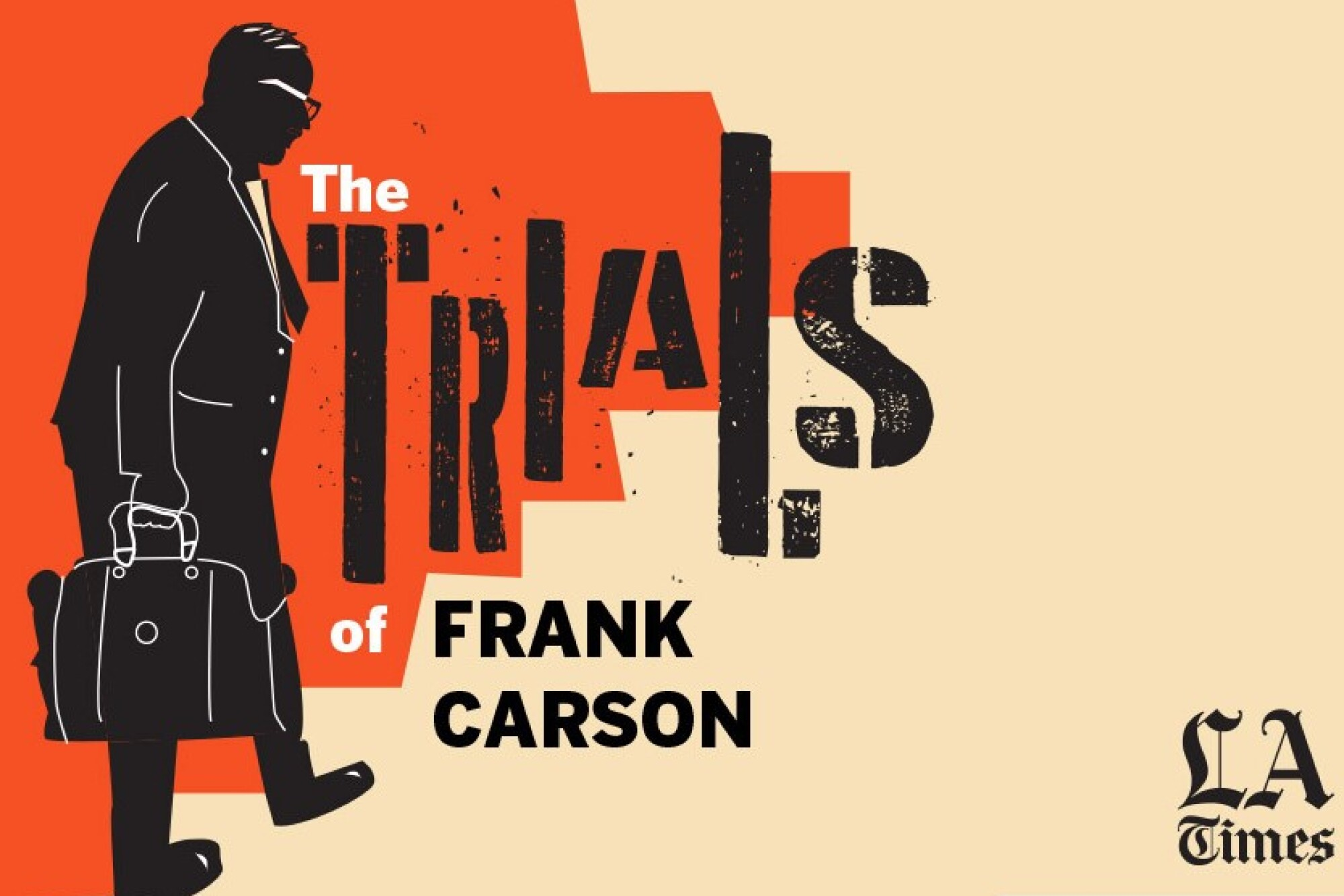 """Art for """"The Trials of Frank Carson"""" podcast"""