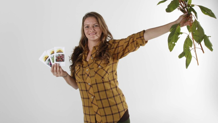 Brijette Pena is the owner and operator of San Diego Seed Company, which produces seeds adapted for local and regional Southern California climates.