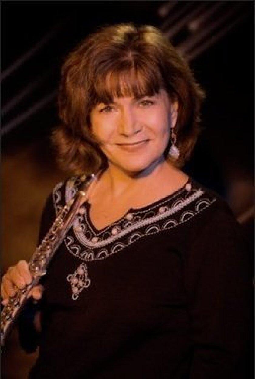 Flutist Lori Bell