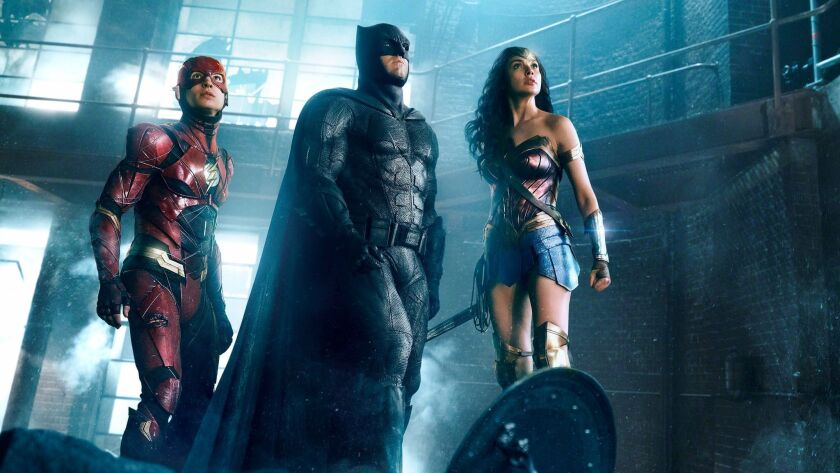 """""""Justice League,"""" featuring DC characters the Flash, Batman and Wonder Woman, underperformed at the box office."""