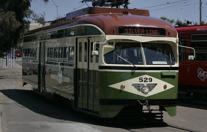 Restored vintage trolley debuts