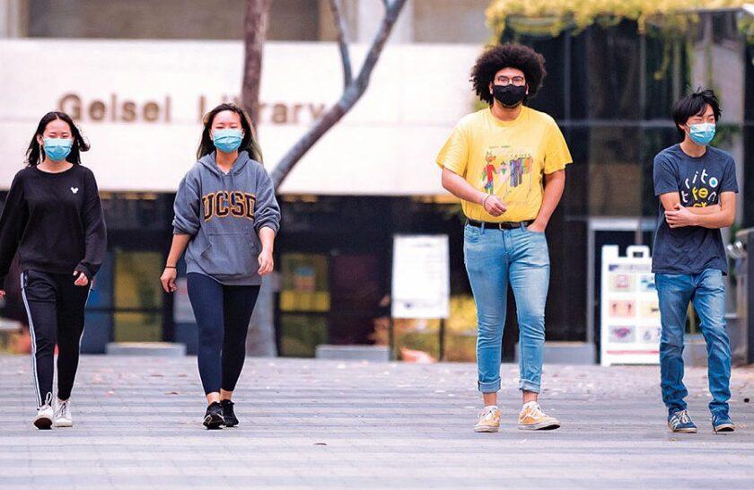 Con Las Infecciones De Covid 19 Casi En Cero Ucsd Pide A Los Estudiantes No Salir De Vacaciones De Primavera San Diego Union Tribune En Español