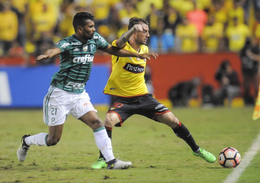 BARCELONA DE ECUADOR VS. PALMEIRAS