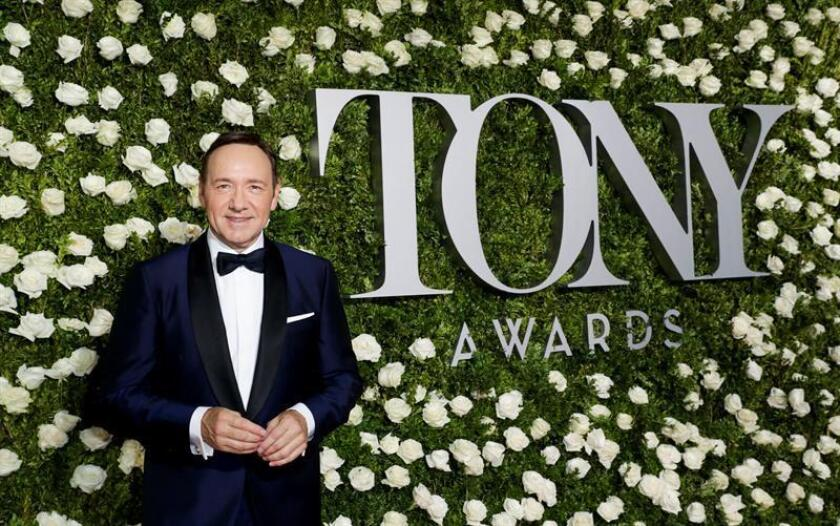 US actor and show host Kevin Spacey poses on the red carpet while arriving to the 2017 Tony Awards at Radio City Music Hall in New York, New York, USA, 11 June 2017. EFE/EPA/FILE
