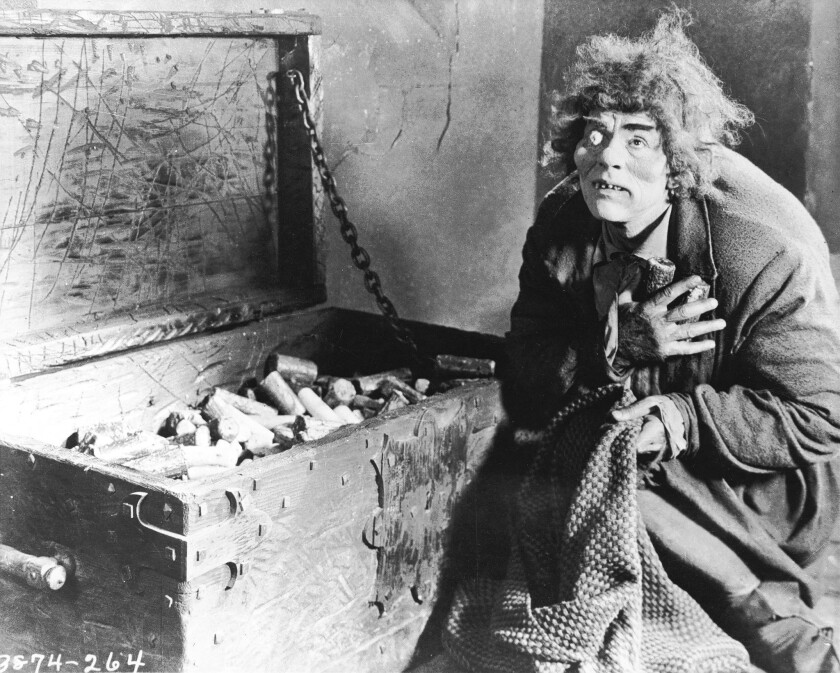 """Lon Chaney in """"The Hunchback of Notre Dame"""""""