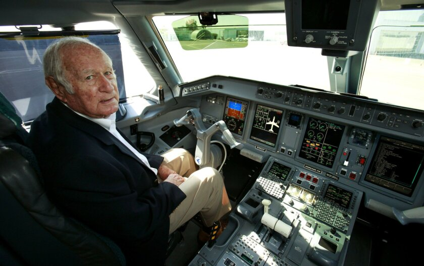 Ted Vallas of Rancho Santa Fe founded California Pacific Airlines in 2010. Howard Lipin