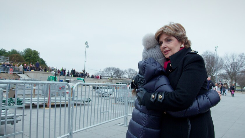 """Gloria Allred in a scene from """"Seeing Allred."""" Credit: Netflix"""
