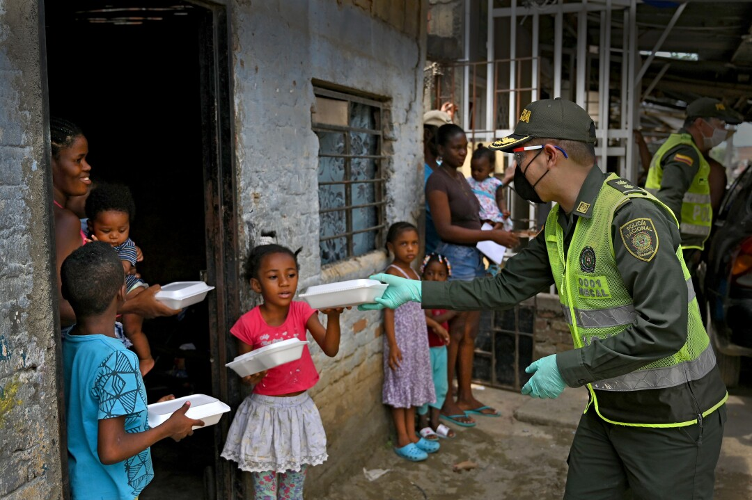 COLOMBIA-HEALTH-VIRUS-POVERTY