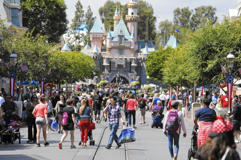 """In """"The Sonic Boom,"""" author Joel Beckerman praises companies such as Disney, which uses sound to move people through amusement parks such as Disneyland in Anaheim."""
