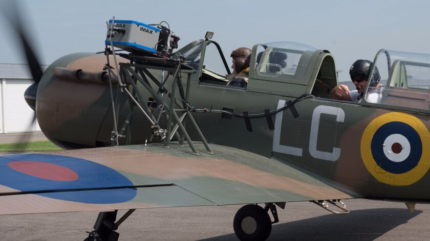 """On the set of """"Dunkirk"""""""