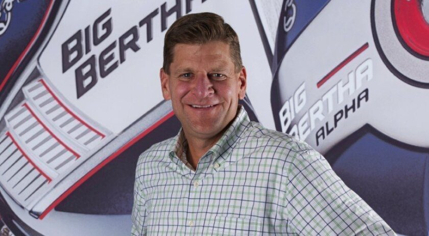 Chief Executive Chip Brewer has Callaway Golf looking for growth beyond the sluggish golf market