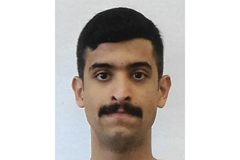 This undated photo provided by the FBI shows Mohammed Alshamrani. The Saudi student opened fire inside a classroom at Naval Air Station Pensacola on Friday before one of the deputies killed him. (FBI via AP)
