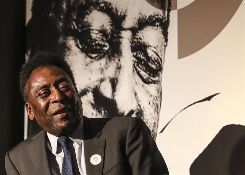 "En la imagen, el exfutbolista Edson Arantes do Nascimento ""Pelé"". EFE/Archivo"