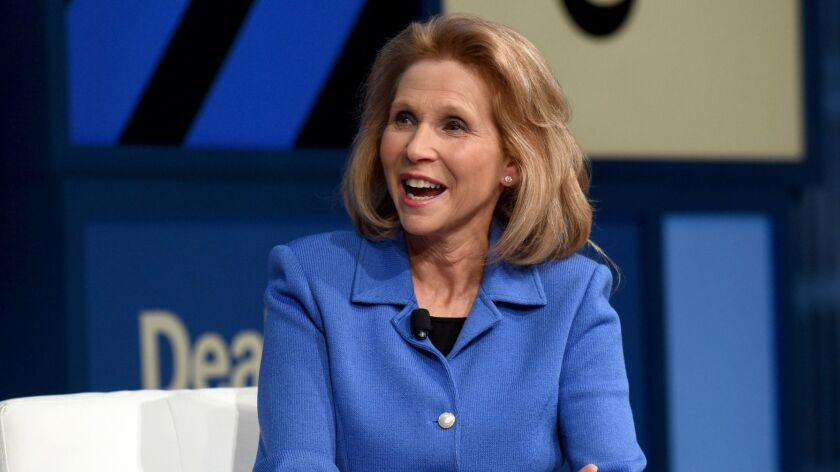 CBS Vice Chair Shari Redstone, shown in 2016, succeeded in getting rid of her opponents on the CBS board.
