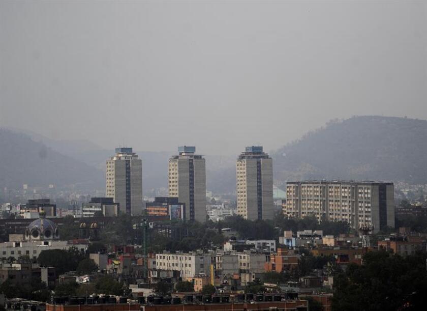Fotografía panorámica de la Ciudad de México. EFE/ARCHIVO