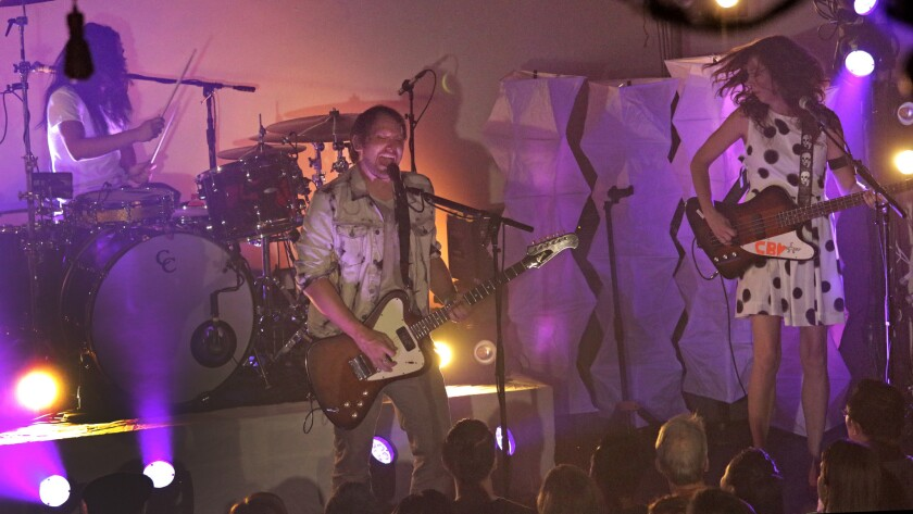 Silversun Pickups will perform at KAABOO Del Mar on Friday.
