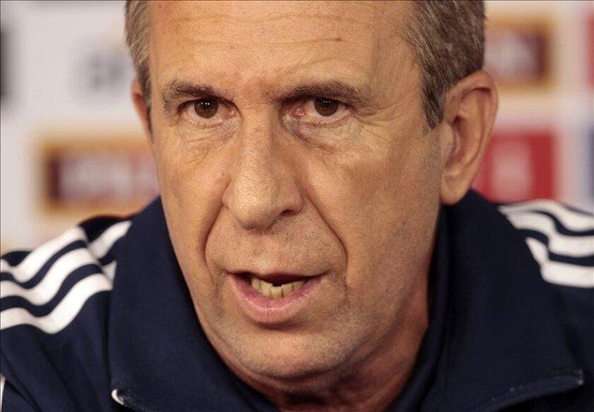 El técnico de la selección paraguaya, Gerardo Pelusso. EFE/Archivo
