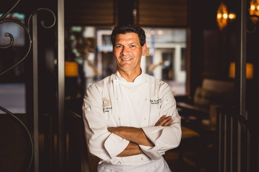 The US Grant's executive chef Mark Kropczynski.