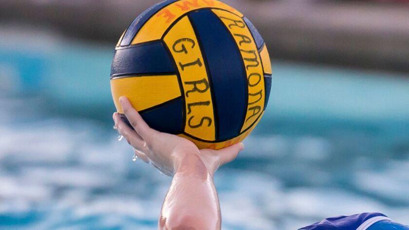 Ramona High School girls water polo