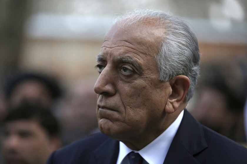 U.S. peace envoy Zalmay Khalilzad called for a reduction in violence by all sides in Afghanistan's protracted conflict.