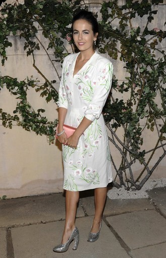 """Actress Camilla Belle arrives at Miu Miu Presents Lucrecia Martel's """"Muta"""" in Beverly Hills. """"Muta"""" is a short film created by Martel for Miu Miu to feature their fall 2011 and Noir sunglasses collection."""