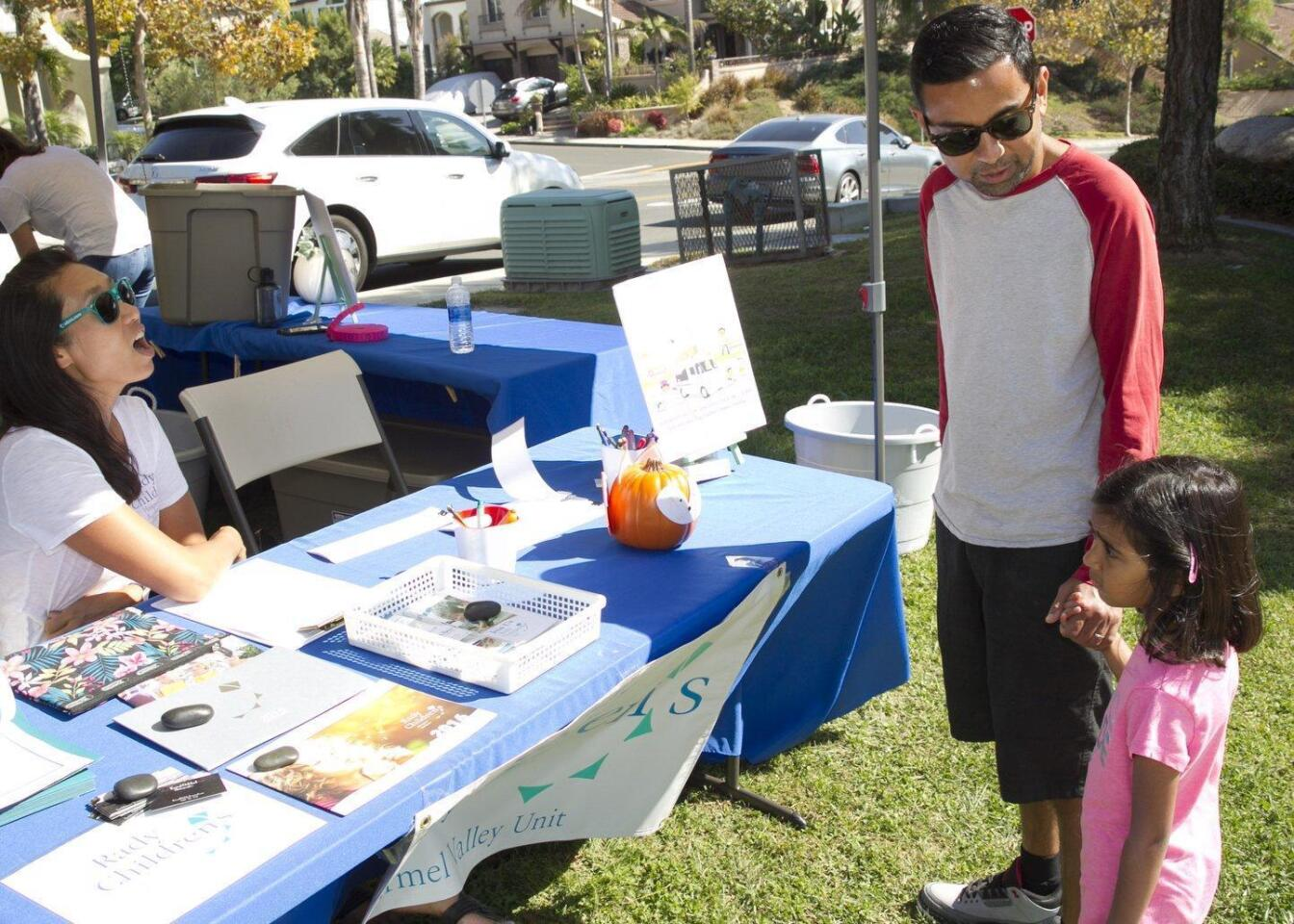 Neighborhood Outreach event for Rady Children's Hospital