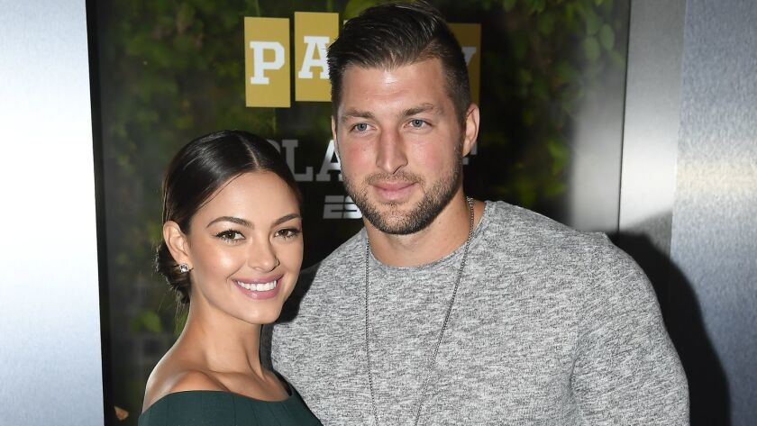 FILE: Tim Tebow Engaged To Former Miss Universe Demi-Leigh Nel-Peters