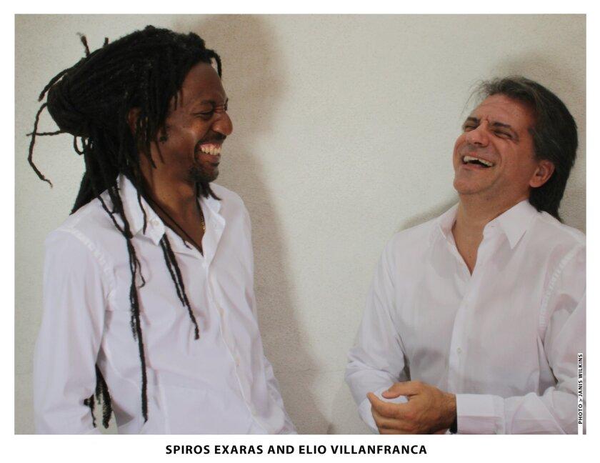 Spiros Exaras and Elio Villafranca