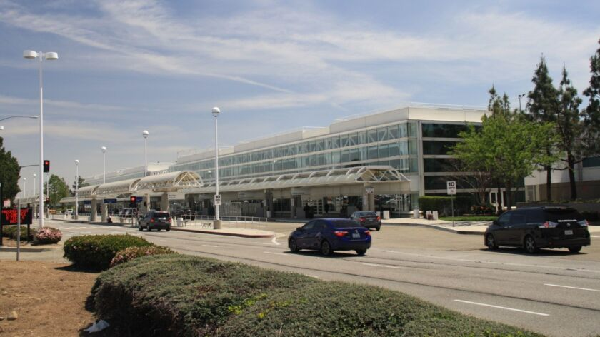 Travelers flying out of Ontario International Airport can now reserve on-site parking online.