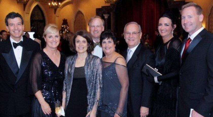 David Botta; Mary Wilde; Dr. Ellen Heyneman; Dr. Paul Sylvan; Eve Fybel; Gary Fybel, chief executive at Scripps La Jolla; Cheryl Taylor; Jeff Allred