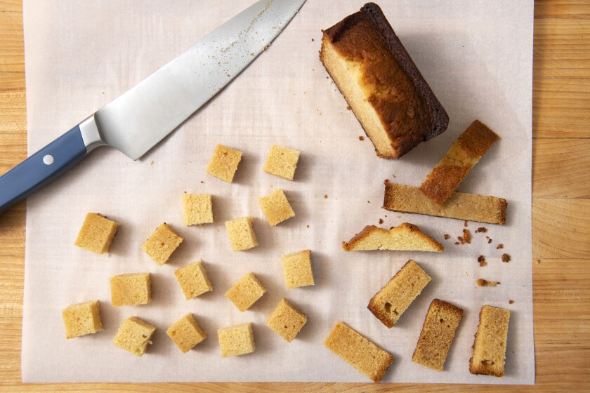 If you like salted caramel, you'll love this pound cake