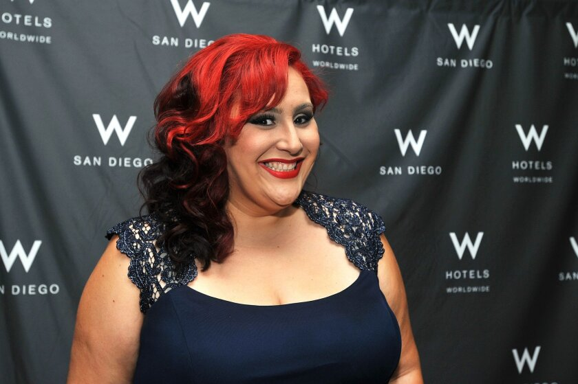 2015.09.16 --  Claudia Sandoval before the start of  MasterChef Finale Viewing Party at W San Diego Hotel. Sandoval was crowned winner of season six MasterChef. Photo: Rick Nocon