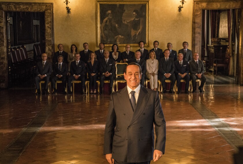 Toni Servillo as Silvio Berlusconi in Paolo Sorrentino's 'Loro.'