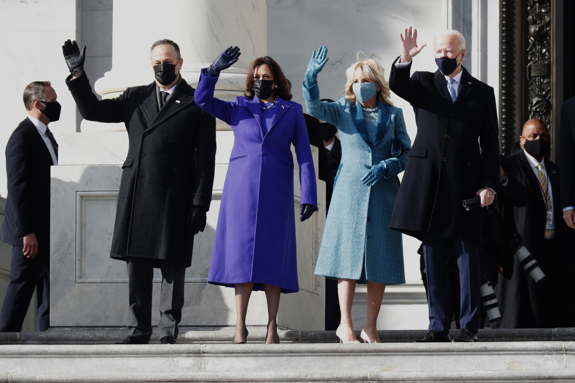Photos: Joe Biden's historic Inauguration Day - Los Angeles Times