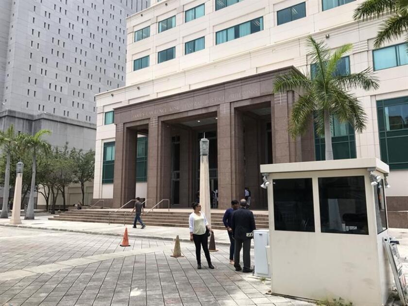 Imagen del tribunal federal de Miami. EFE/Archivo
