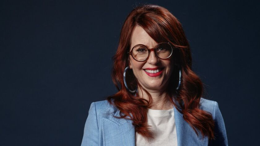 "HOLLYWOOD,CA --SATURDAY, MARCH 17, 2018--Megan Mullally, from NBC's ""Will and Grace,"" photographed i"