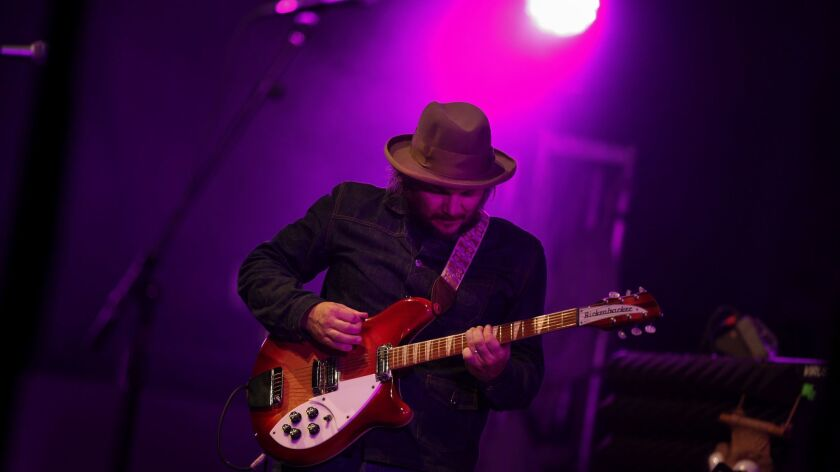 Jeff Tweedy with Wilco at the Hollywood Bowl, Sept. 30, 2012.