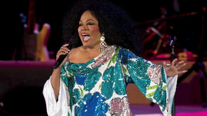 LOS ANGELES, CA -- AUGUST 3, 2013--Grammy Award-winning recording artist Diana Ross performs at the