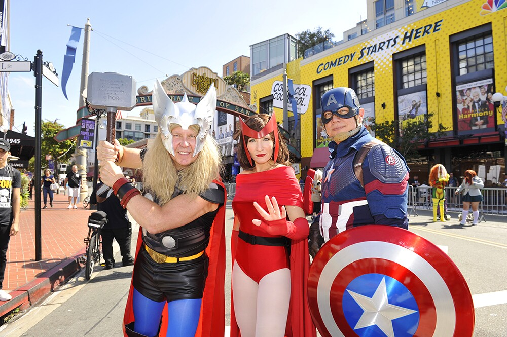Comic-Con International Cosplayers