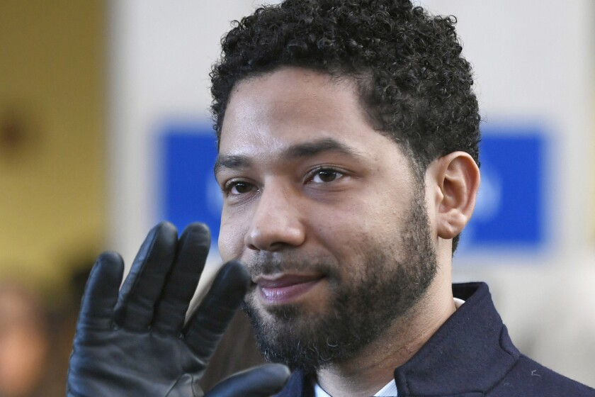 Judge orders Google to turn over a full year of Jussie Smollett's data
