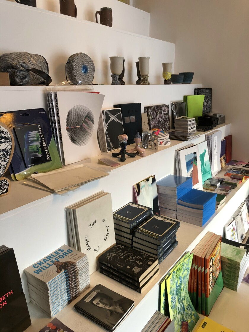 Family Books is known for its carefully curated collection of books, zines, vinyl records, tapes, clothing and movies.