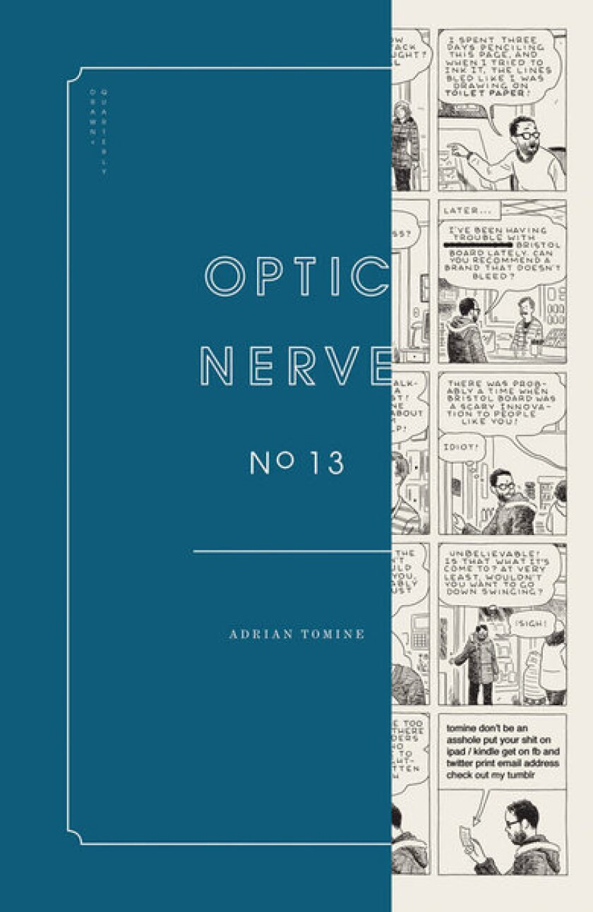 Issue 13 of Adrian Tomine's comics magazine Optic Nerve has just come out.