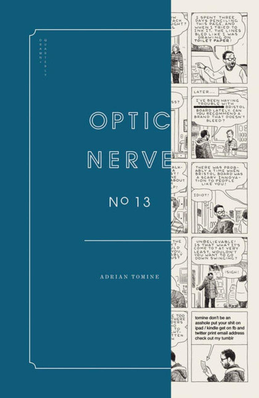 Adrian Tomine's Optic Nerve returns