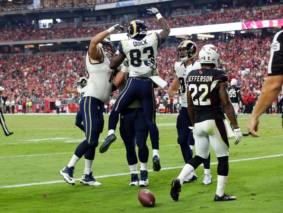 NFL: Rams 17-13 Cardinals