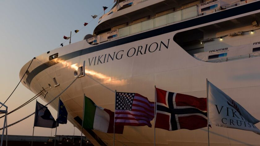 Viking's newest ocean ship, the 930-passenger Orion, will sail in July.