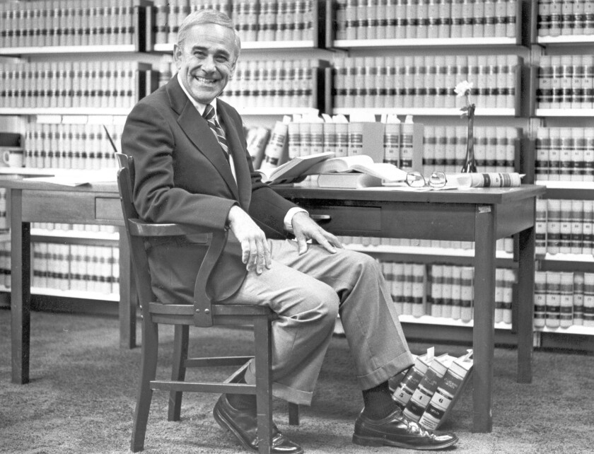 Arthur L. Alarcon, shown in 1979 when he was a state appeals court judge, served on the bench for more than 50 years.