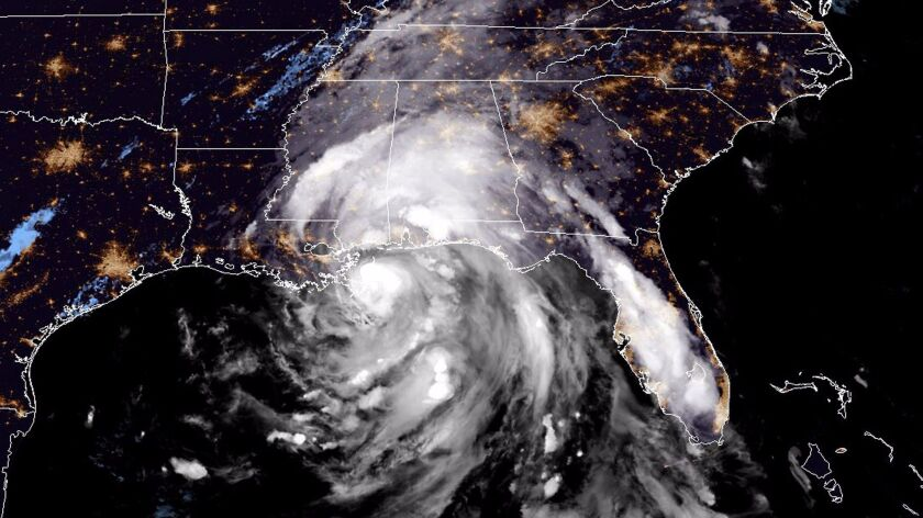 Hurricane Nate has made landfall at the mouth of the Mississippi River on the southeastern tip of the state of Louisiana, the National Hurricane Center said Saturday.