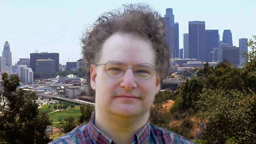 Jeremiah Axelrod is founder of the Institute for the Study of Los Angeles at Occidental College. (C