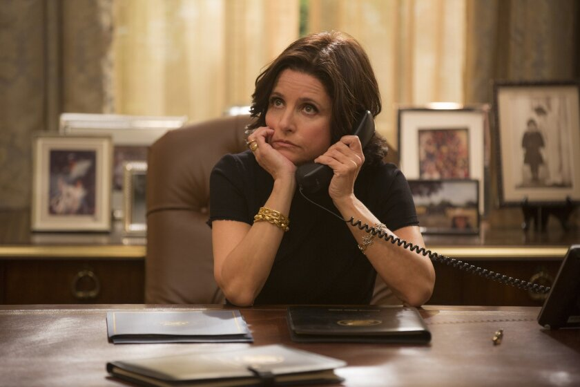 """Julia Louis-Dreyfus stars in """"Veep,"""" which moved production to Los Angeles from Maryland in part because of California's new film tax-credit program."""