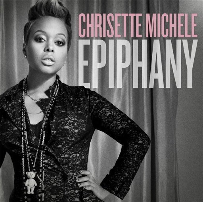 "In this CD cover image released by Def Jam, Chrisette Michele's ""Epiphany,"" is shown. (AP Photo/Def Jam)"
